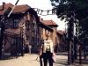 Auschwitz entrance.